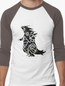 Tyranitar Men's Baseball ¾ T-Shirt