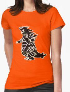 Tyranitar Womens Fitted T-Shirt