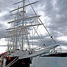 """Tall Ship """"Lord Nelson"""" at Williamstown, Australia by Bev Pascoe"""
