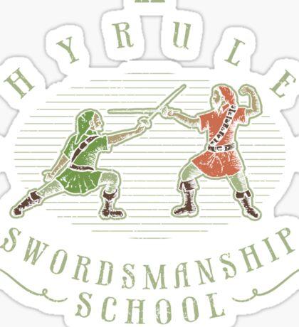 Hyrule Swordsmanship School Sticker