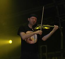 Violinist, Music By Moonlight, Sydney Olympic Park 2007 by muz2142