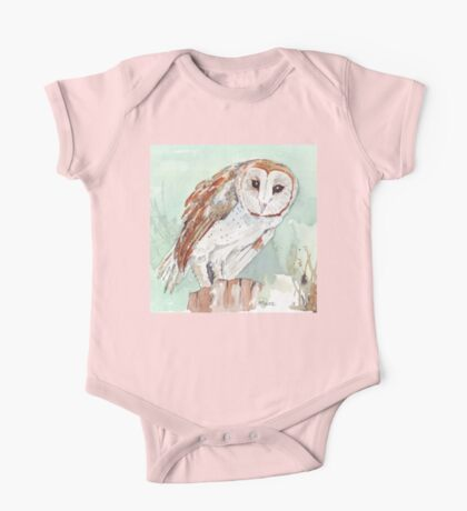 Barn Owl/Nonnetjie-Uil One Piece - Short Sleeve