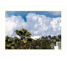 VIEW FROM MY ROOFTOP 2 Art Print
