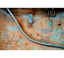 1957 VW Beetle - An Abstract View Photographic Print