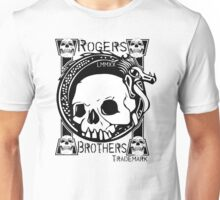 skull tattoo by rogers brothers Unisex T-Shirt