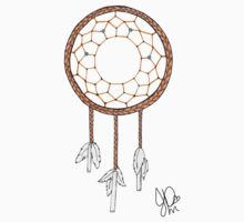 Dream catcher in Sharpie  by JasmineMDeLeon