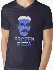 Frozen Pizza John Mens V-Neck T-Shirt