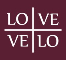 Velo Love - Love Velo (dark) by KraPOW