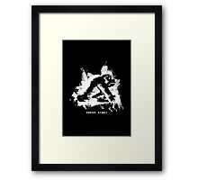 Paint Kong (Alt) Framed Print