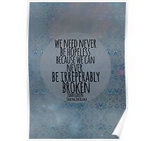Never Be Hopeless Poster