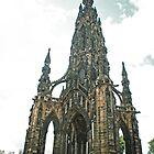 Scott Monument, Edinburgh by Junec