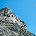 Edinburgh Castle by Junec