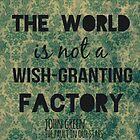 Wish-Granting Factory by Alyssa Clark