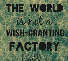 Wish-Granting Factory by Alyssa Clark