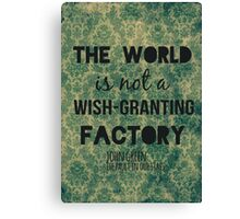 Wish-Granting Factory Canvas Print