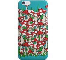 Mushroom Garden iPhone Case/Skin