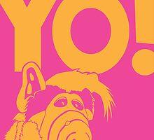 Alf says Yo! by macplenty
