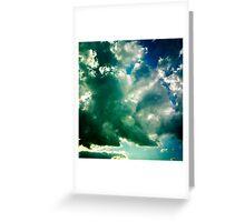 Sky Over Homeward Bound Greeting Card