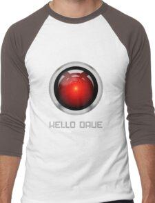 HELLO DAVE Men's Baseball ¾ T-Shirt