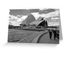 Sydney stroll - New South Wales - Australia Greeting Card