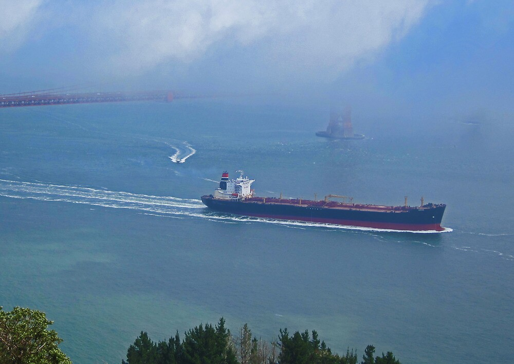 Tanker Out The Gate by David Denny