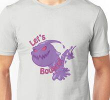 Let's Bounce! - Secret Weapon Zac Unisex T-Shirt
