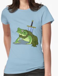 Ribbit in Time Womens Fitted T-Shirt