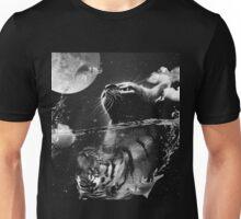 Cat reflection Unisex T-Shirt