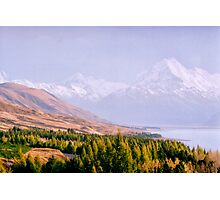 Mount Cook National Park - New Zealand Photographic Print
