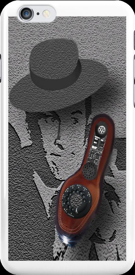 """♥•.¸¸.ஐ SECRET AGENT 86~MAXWELL SMART.. HELLO 99 PICK UP THE PHONE.. IPHONE CASE MY TRIBUTE TO """" MAXWELL SMART♥•.¸¸.ஐ by ✿✿ Bonita ✿✿ ђєℓℓσ"""