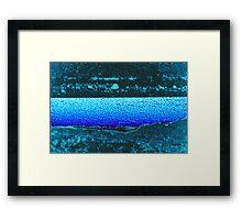 Unforgiving River  Framed Print