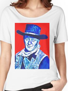 John Wayne in Red River Women's Relaxed Fit T-Shirt