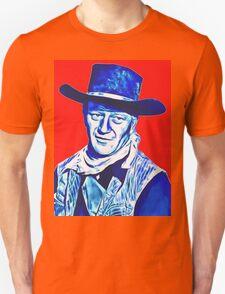 John Wayne in Red River Unisex T-Shirt