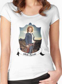 Hello Sweetieeee... Women's Fitted Scoop T-Shirt