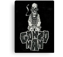 Gonzo Man Canvas Print