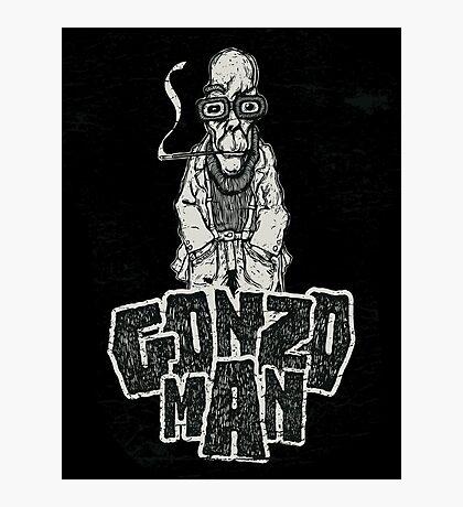 Gonzo Man Photographic Print