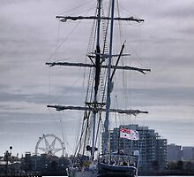 """The STS """"Young Endeavour"""" (1) by Larry Lingard-Davis"""