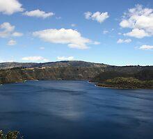 Blue Waters of Lake Cuicocha by rhamm