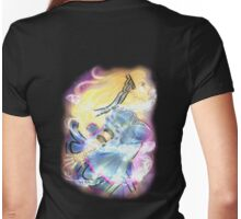 Girl On Fire- Alice Womens Fitted T-Shirt