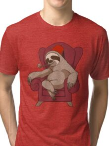 Sophisticated Sloth Tri-blend T-Shirt