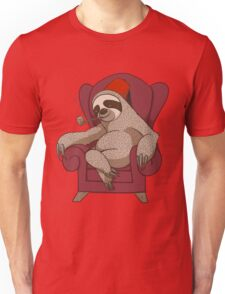Sophisticated Sloth Unisex T-Shirt