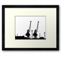 Last to the Ship Framed Print