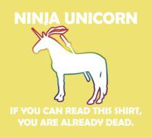 Ninja Unicorn. Kids Tee