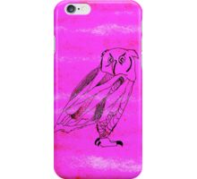 Owl I Ever Wanted iPhone Case- Fuchsia iPhone Case/Skin
