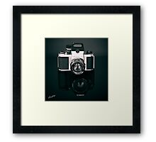 A Reflection of Futures Past Framed Print