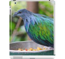 Multi Colored Poofy Bird iPad Case/Skin