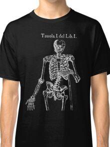 White Skeleton Anatomy Classic T-Shirt