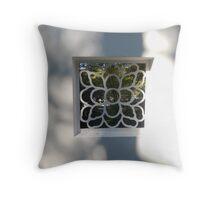 VIEW THROUGH A WINDOW - VIEW LARGE Throw Pillow