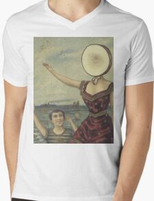 In The Aeroplane Over The Sea Mens V-Neck T-Shirt