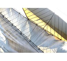 Diagonsails Photographic Print